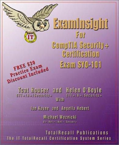 Examinsight for Comptia Security+ Exam Sy0-101