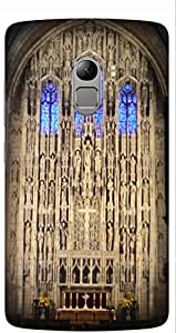 Medieval Church by Akhila Printed Back Cover Case For Lenovo Vibe K4 Note