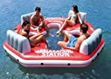 Search : Intex Pacific Paradise Relaxation Station Water Lounge 4-Person River Tube Raft