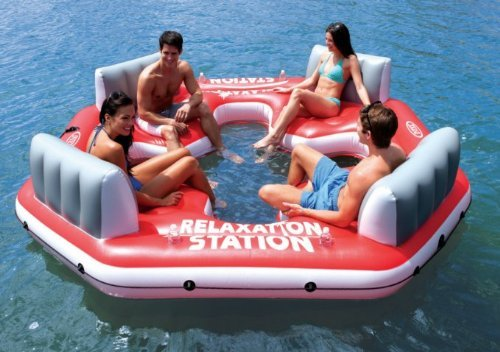 Relaxation Station Pool Lounge: Inflatable Items For Rivers/lakes