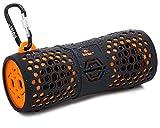 AQUATUNE 9612 Waterproof Bluetooth Speaker by Yatra - Ultra Rugged All Weather Design, Wireless, Portable, Certified IPX6 Waterproof (Orange)