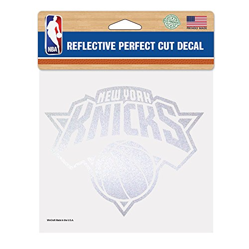 NBA New York Knicks Perfect Cut Reflective Decal, 6 x 6-Inch (Knicks Decal compare prices)