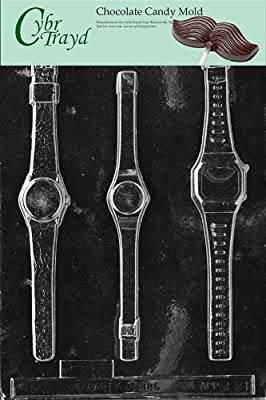 Cybrtrayd M021 Wrist Watch Miscellaneous Chocolate Candy Mold