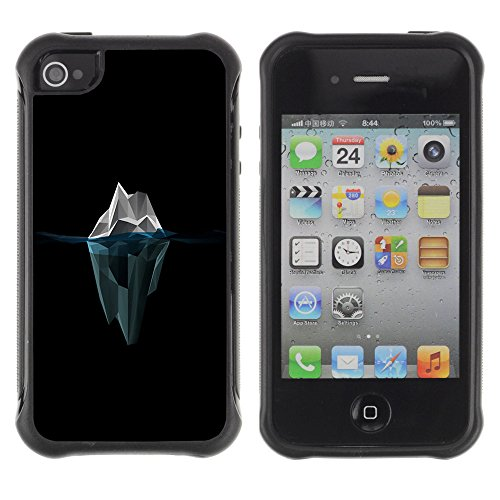 Zfresh Rugged Protective Case Cover Ux - Apple Iphone 4 / 4S