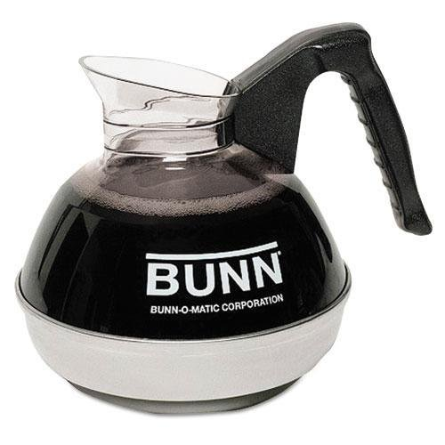 BUNN 6100 12-Cup Coffee Carafe for Pour-O-Matic Bunn Coffee Makers, Black Handle keurig 2 0 k carafe refillable reusable k cup carafe coffee filter k cups combo new arrival