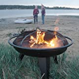 Blaze FirePit 55cm Brazier Garden Outdoor Patio Round Fire Pitby Boon
