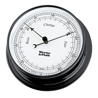 Weems & Plath Endurance Collection 125 Barometer (Black Pearl) by Weems & Plath