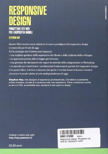 Libro responsive design progettare siti web per for Miglior design di siti web di mobili
