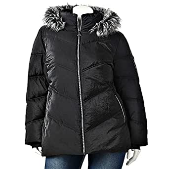 ZeroXposur Hooded Puffer Jacket - Women's PLUS WINTER COAT