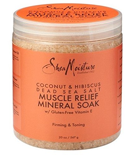 SheaMoisture Coconut & Hibiscus Dead Sea Salt Nourishing Soak - 20 oz