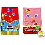 Japanese Corn Snack (Season Limited Flavors) Bonus Pack -Caramel Corn - By Tohato From Japan