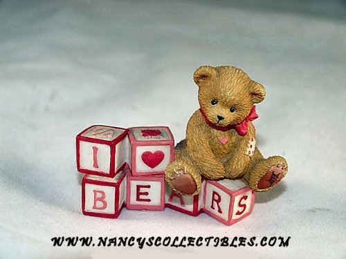 Cherished Teddies I Love Bears Bear with Love Letters