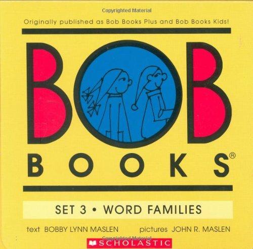 Bob Books Set 3- Word Families front-665721