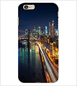 PrintDhaba Maine Drive D-2036 Back Case Cover for APPLE IPHONE 6 (Multi-Coloured)