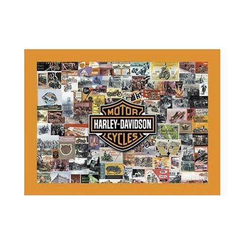 Vintage Harley Davidson MotorCycle 1000 Pc Jigsaw Puzzle