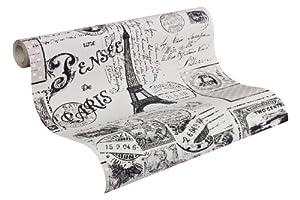 Papiers peints vinyl intisse avignon restauration maison - Papier a peindre intisse ...