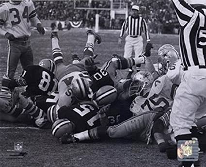Ice Bowl Football Bart Starr 1967 Ice Bowl