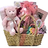 Great Arrivals Baby Gift Basket, Baby Essentials Girl