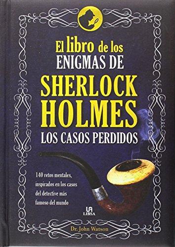 Libro de los Enigmas de Sherlock Holmes.El