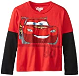 Disney Little Boys' Cars Lightning Mcqueen Tee