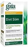 Gaia Herbs Diet Slims, 60-capsule Bottle