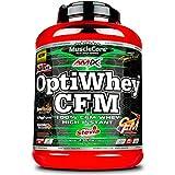 Combinación de proteinas de alta calidad. Opti-Whey CFM de Amix MuscleCore es una fórmula de proteínas que ha sido elaborada basándose en los 3 tipos de la original CFM® (Micro-filtración a flujo cruzado) de Glambia®. Opti-Whey CFM está comue...