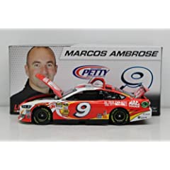 Buy 2013 Marcos Ambrose #9 Mac Tools Action Diecast 1 24 Ford Fusion Petty Motorsports by Action