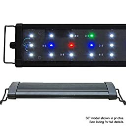 Beamswork EA Timer FSPEC LED Aquarium Light Freshwwater Plant Extendable (50cm - 18\