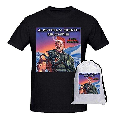 Austrian Death Machine Big and Tall Uomos Tee Shirts