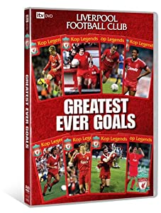 Liverpool - Greatest Ever Goals Dvd by ITV Studios Home Entertainment