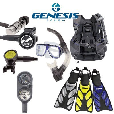 Genesis Economy Dive Essentials Gear Package provided by Genesis by Sherwood