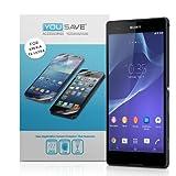 Yousave Accessories Pellicola Protettiva Per Sony Xperia T2 Ultra Confezione da 3