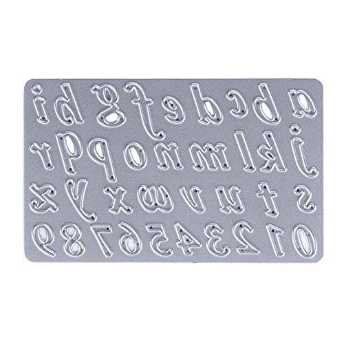 demiawaking 1pcs metall buchstabe form schneiden schablonen diy sammelalbum dekor papier karten. Black Bedroom Furniture Sets. Home Design Ideas