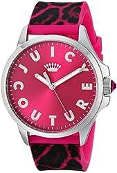 Juicy Couture Women's 1901187 Jetsetter Analog Display Quartz Pink Watch