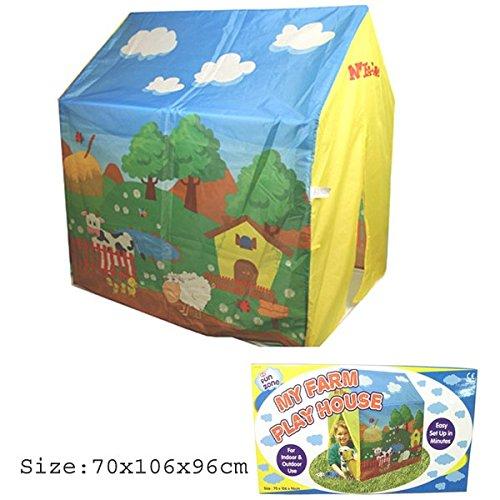 VeKa Classic Collection Kids Farm Design Spiel-Haus jetzt bestellen