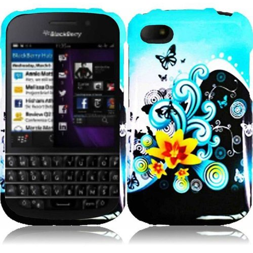 Cell Accessories For Less (Tm) For Blackberry Q10 Design Cover Case - Yellow Lily - By Thetargetbuys *Free Shipping*