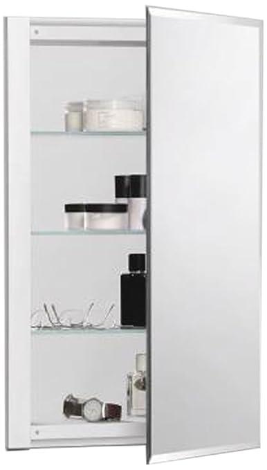 Robern CB-RC1626D4FB1  R3-Series Bevel Mirror Medicine Cabinet