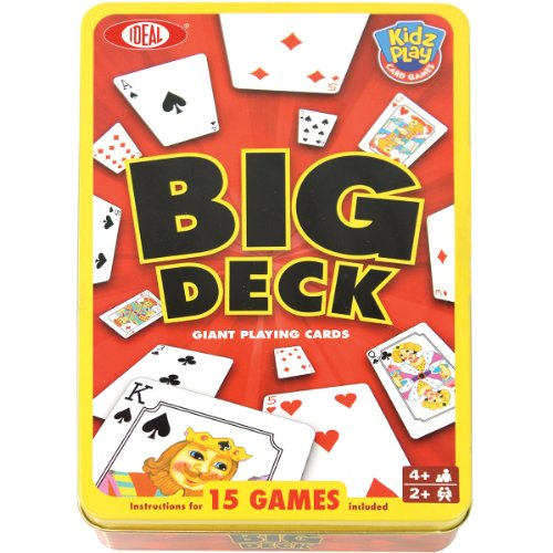 Big Deck Playing Cards In a Tin - 1
