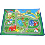 Town Village Children Carpet Kids Bed...