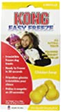 KONG Easy Freeze Chicken Soup Refills Frozen Dog Treats, 4-Refills