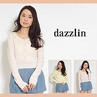 【dazzlin(ダズリン)】シャーベットカラーちびカーディガン