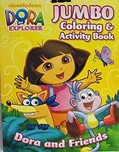 Dora the Explorer Coloring amp Activity Book- Dora and Friends