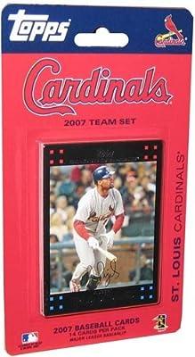 Topps St. Louis Cardinals 2007 Baseball Card Team Set