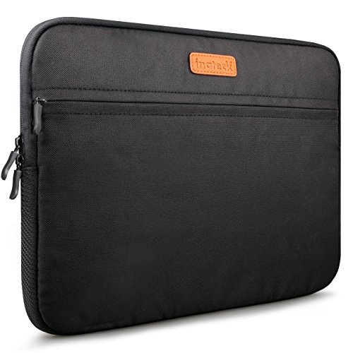 Inateck 15-15.4 Inch Laptop / Notebook / Ultrabook / MacBook Pro Retina Sleeve Bag Carrying Case Cover, Black (LC1500B)