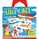 Peaceable Kingdom / Sticker Fun! At the Airport 80 Reusable Sticker Tote
