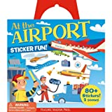 Peaceable Kingdom / Sticker Fun! At the Airport Reusable Sticker Tote