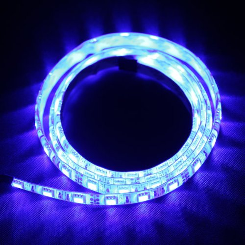 1M 5050 Smd 60 Led Rgb Flexible Car Auto Light Strip