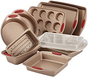 Rachael Ray 52410 10-Piece Cucina Nonstick Bakeware Set
