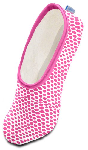 Snoozies Modern Animals Women's Lightweight Skinnies Footcovering Slippers