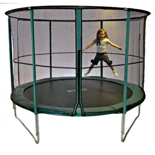 Cortez Premier 12ft Trampoline with Enclosure and Free Ladder